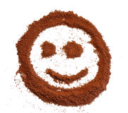 Smile from coffee Royalty Free Stock Photography