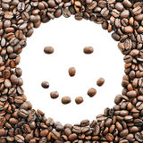 The smile of coffee Stock Image