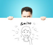 Smile concept Royalty Free Stock Photography