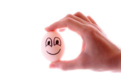 Smile egg Royalty Free Stock Image