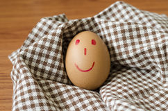 Smile egg Royalty Free Stock Photos