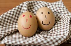 Smile egg Stock Photography