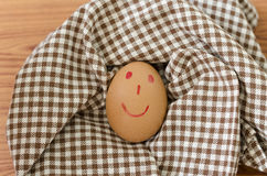 Smile egg Stock Images