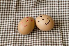 Smile egg Royalty Free Stock Photo
