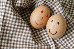 Smile egg Stock Images