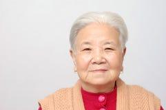 Smile elder woman Royalty Free Stock Photo