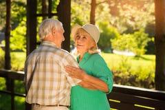 Smile of elderly woman. Royalty Free Stock Photo