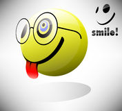 Smile Emoticon Royalty Free Stock Images