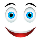 Smile emoticon sign Royalty Free Stock Photos