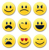 Smile and Emotion Faces Royalty Free Stock Photography