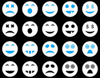 Smile and emotion icons Royalty Free Stock Image