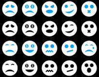 Smile and emotion icons Royalty Free Stock Images