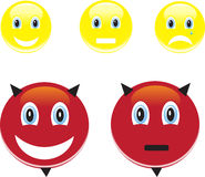 Smile and emotions Stock Image
