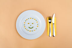 Smile face Royalty Free Stock Photography