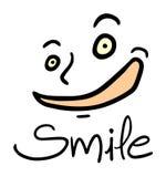 Smile face illustration Stock Photos