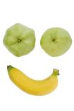 Smile fruit face Royalty Free Stock Photography