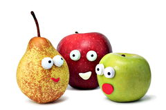 Smile fruits Royalty Free Stock Image