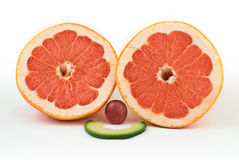 Smile fruits Stock Images
