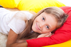 Smile girl Stock Photography