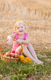 Smile girl outdoor Stock Photography