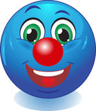 Smile. Good clown. Stock Images