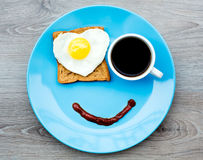 Smile for a good morning Royalty Free Stock Photo