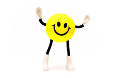Smile hands up Stock Photography