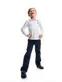 Smile happy schoolboy portrait Stock Photography