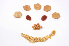 Smile because it is healthy royalty free stock image