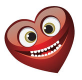 Smile heart Royalty Free Stock Images
