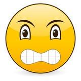 Smile icon 19. Smile icon on a white background. Vector illustration Royalty Free Stock Photos