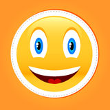 Smile icon Stock Image