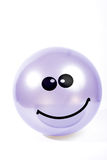 Smile icon. Glossy smiling ball as smile icon Stock Photo