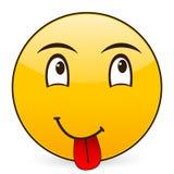 Smile icon 8 Royalty Free Stock Photo