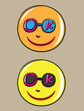 Smile icon Stock Images