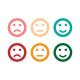 smile icon. vector icons modern style. EPS10 stock illustration