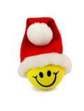 Smile In Santa Hat Stock Photography