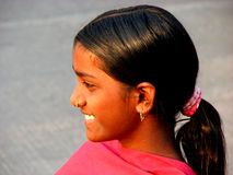Smile from India Royalty Free Stock Photography