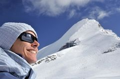 Smile on Kitzsteinhorn Stock Image