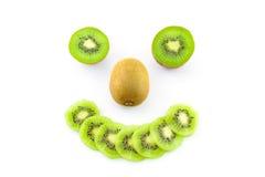 Smile kiwi stock photography