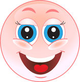 Smile laughs Stock Photography