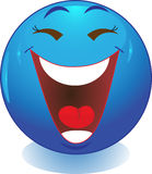 Smile. Laughter. Stock Image - human emotions laughter Stock Images
