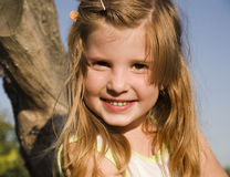 Smile of little girl Royalty Free Stock Image