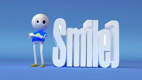 Smile man Stock Photos