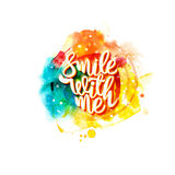 Smile with me Royalty Free Stock Image