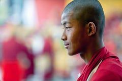 Smile of Monk Royalty Free Stock Photo
