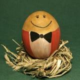 Mr.Egg. Smile of Mr. Egg Stock Images