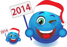 Smile New Year, Christmas. Smile. Stock Photography