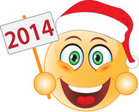 Smile New Year, Christmas. Smile. Royalty Free Stock Photos