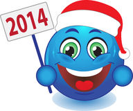 Smile New Year, Christmas. Smile. Royalty Free Stock Photography